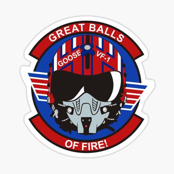 Goose Helmet Sticker