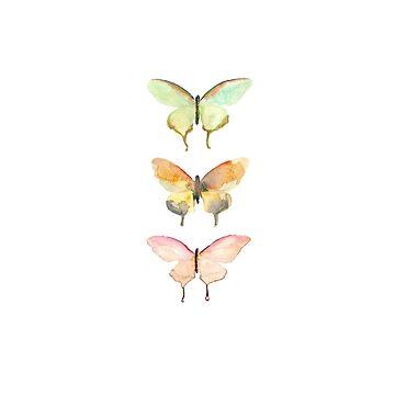 Mini mariposa de clairechesnut