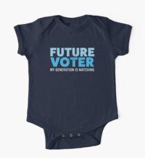 Future Voter Shirt Resist Political T-Shirt for Kids & Teens One Piece - Short Sleeve