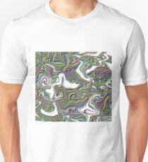 Psychedelic, Abstract Unisex T-Shirt