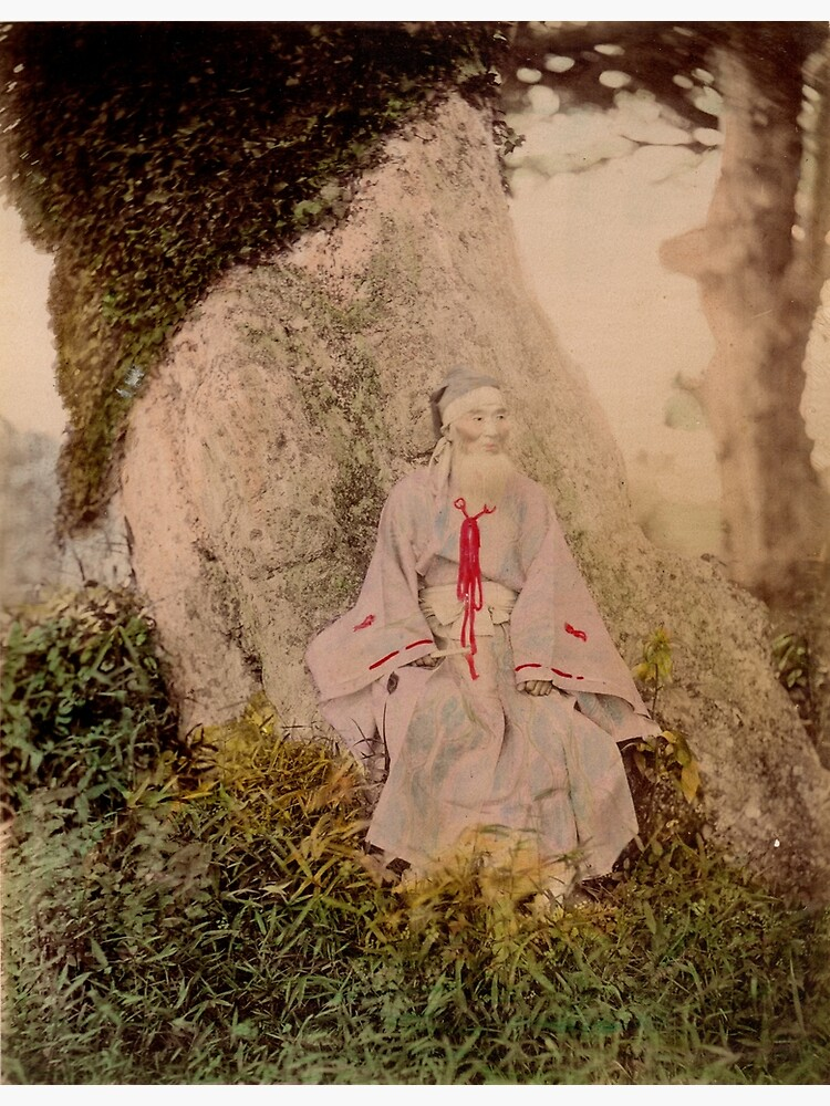 Shinto priest by Fletchsan