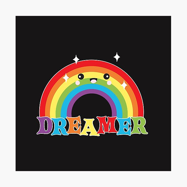 Dreamer #Supercutebowl Photographic Print
