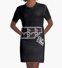I think you're my missing piece - black Graphic T-Shirt Dress