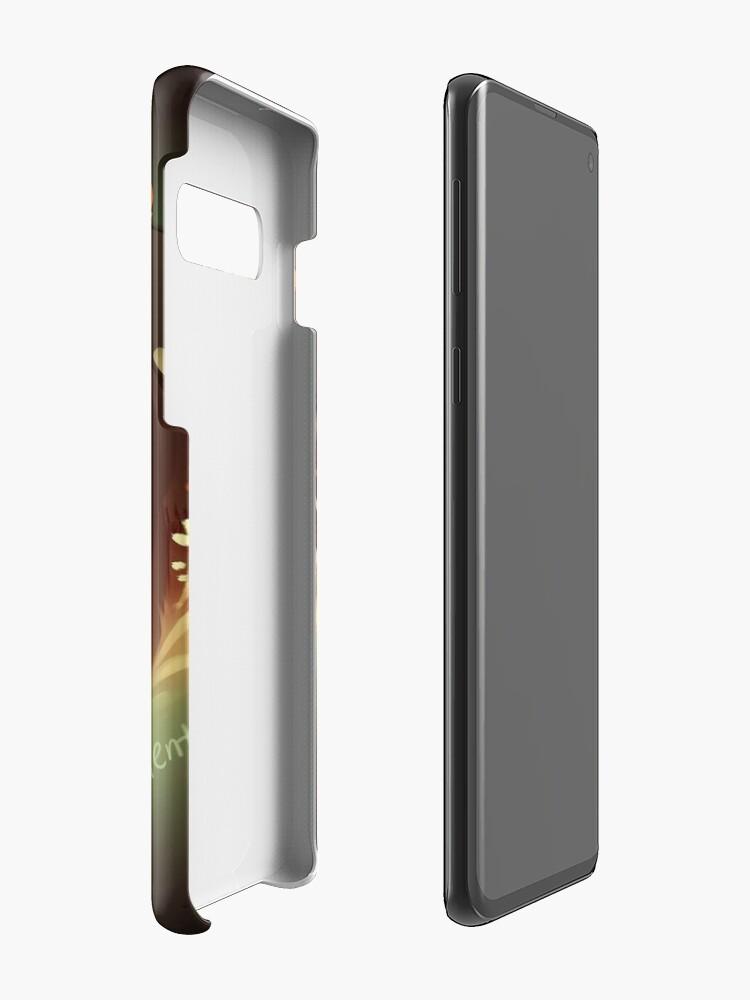 Alternate view of Comfort in Darkness Case & Skin for Samsung Galaxy