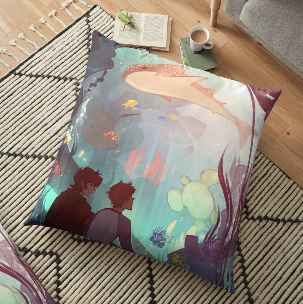 Saltwater Room Floor Pillow