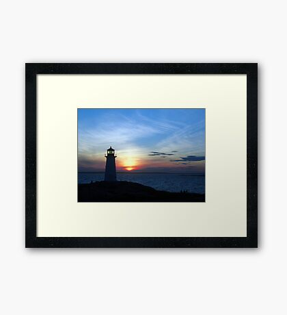 Enchanted Evening Framed Print