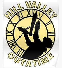 Hill Valley Outatime Poster