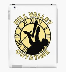 Hill Valley Outatime iPad Case/Skin