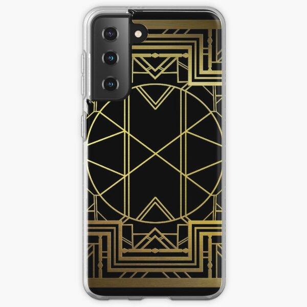Art Deco (Great Gatsby Style) Samsung Galaxy Soft Case