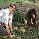 Mandrill Heaven by ApeArt