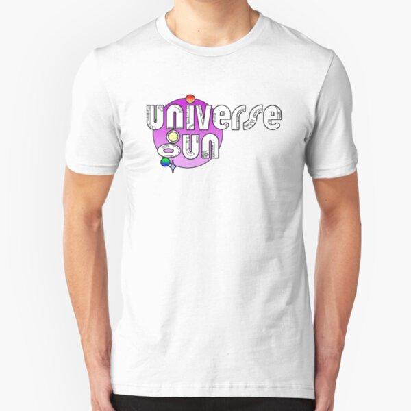Universe Gun New Logo - Pink Slim Fit T-Shirt