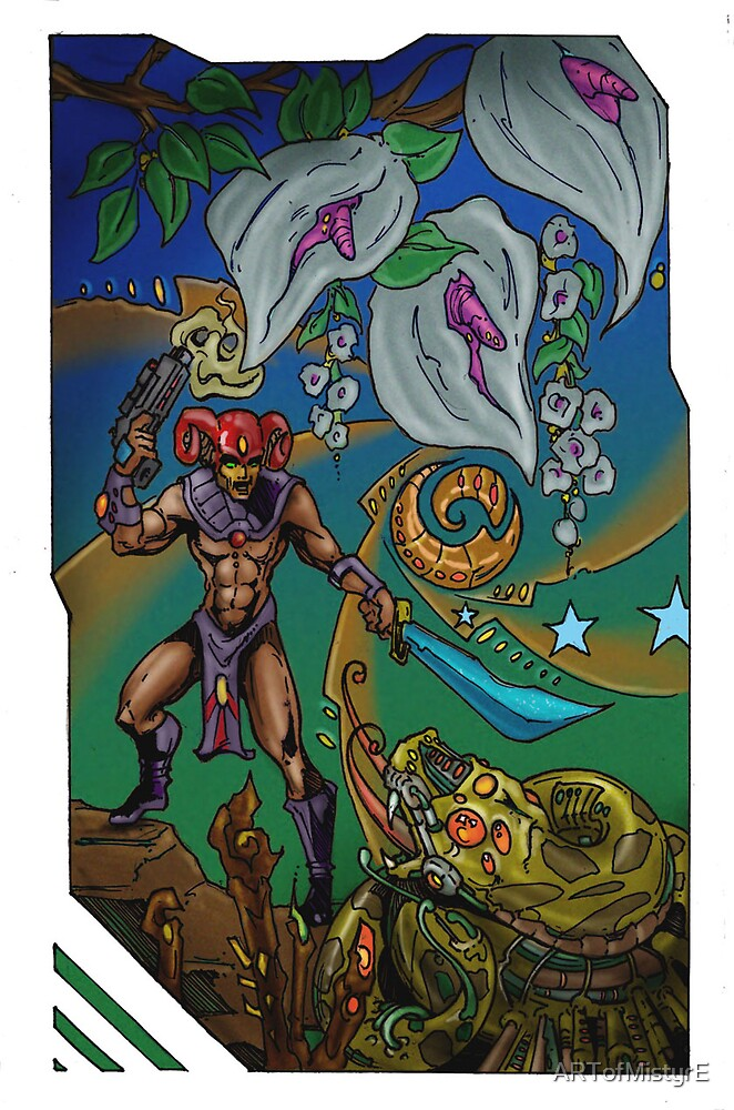 Serpent Slayer by ARTofMistyrE