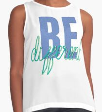 Be Different T-Shirt Contrast Tank