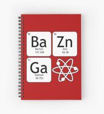 BaZinGa and Atom Spiral Notebook
