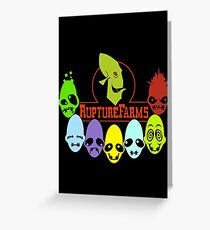 Oddword Abe's Oddysee 'This Is Rupture Farms' Greeting Card