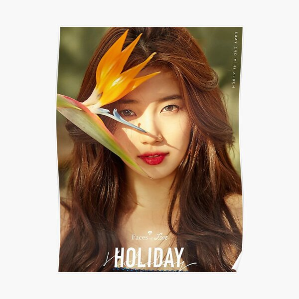 Bae Suzy Holiday Poster