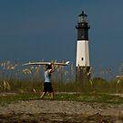 "Lighthouse Surfer by Arthur ""Butch"" Petty"