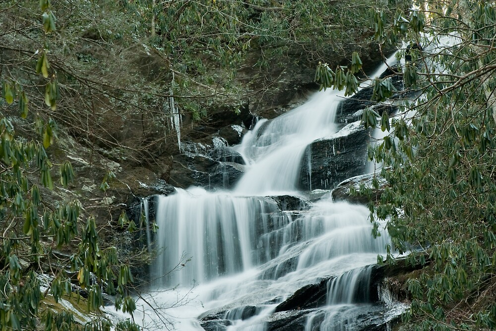 Portion of roaring fork falls by Forrest Tainio
