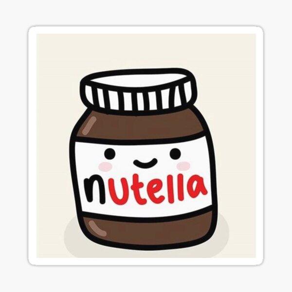 Stickers Sur Le Theme Nutella Kawaii Redbubble