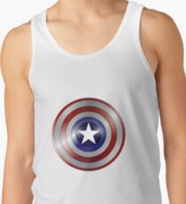 Captain American Shield Tank Top