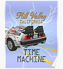 Hill Valley California Poster
