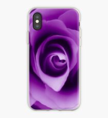 Purple Rose iPhone Case