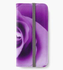 Purple Rose iPhone Wallet/Case/Skin