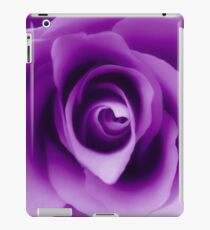 Purple Rose iPad Case/Skin