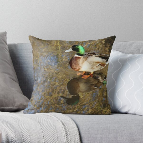 I didn't realize I was so beautiful! Throw Pillow