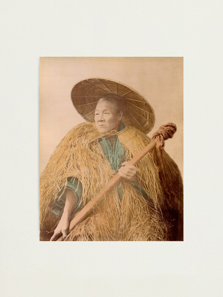 Alternate view of Meiji Coolie, Japan Photographic Print