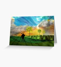 The Detectorist Greeting Card