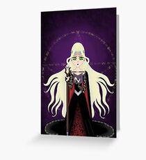 High Priestess (Tarot Card Series) Greeting Card