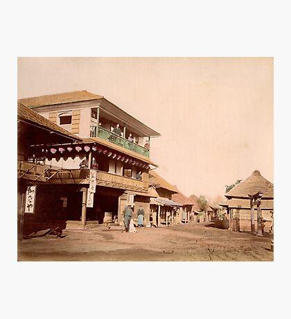 Katase tea house near Enoshima, Japan Photographic Print