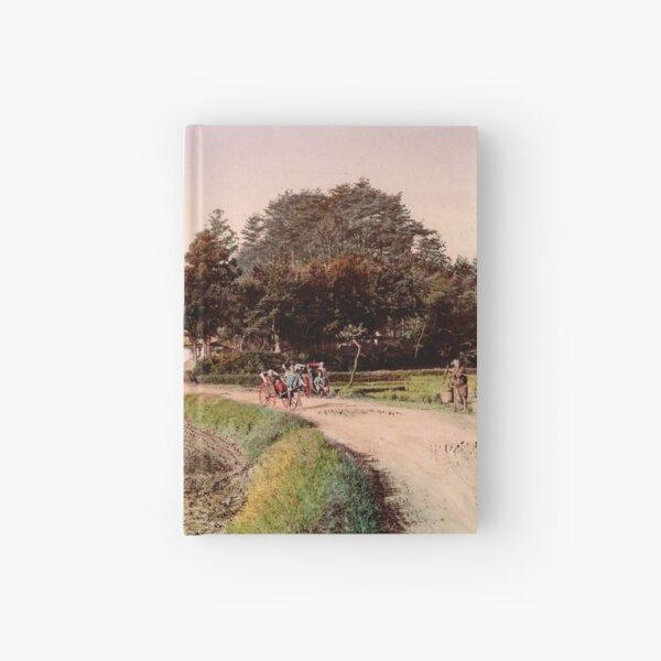 View of Totsuka, Tokaido, Japan Hardcover Journal
