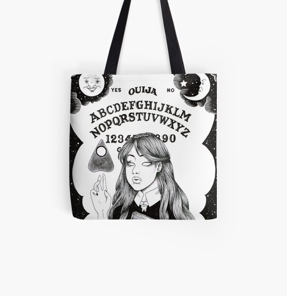 Ouija board All Over Print Tote Bag