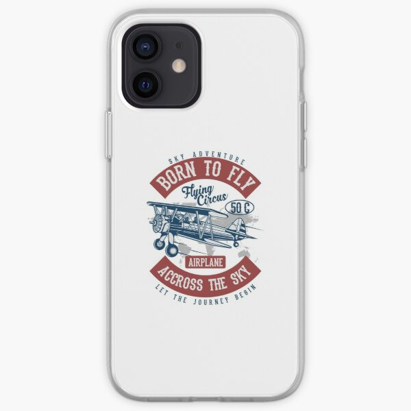 Born To Fly iPhone Soft Case