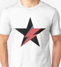 Hommage a David Bowie Slim Fit T-Shirt