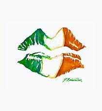 Kiss Me, I'm Irish Photographic Print