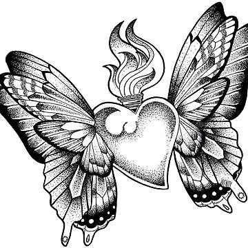 Butterfly heart by i-vomited-dream