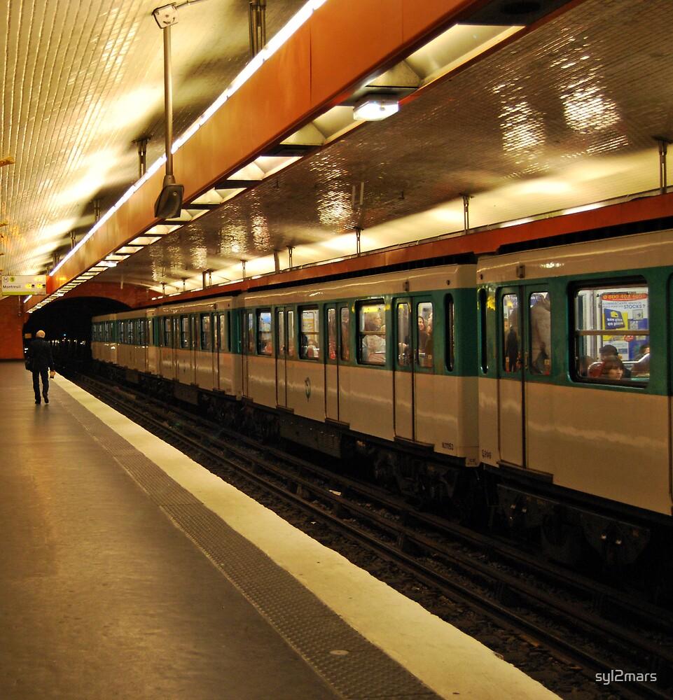 metro paris by syl2mars