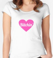 Barbie bitchin Women's Fitted Scoop T-Shirt