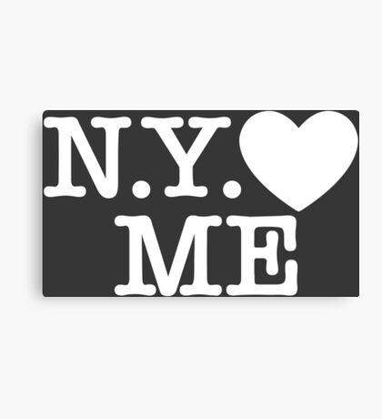 New York Love Me Canvas Print