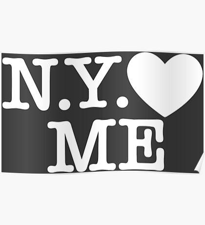 New York Love Me Poster