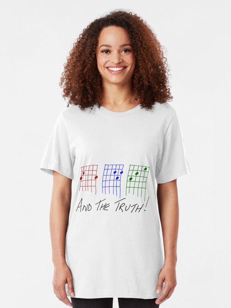 Alternate view of THE PRAIRIE OYSTERS THREE CHORDS AND THE TRUTH Slim Fit T-Shirt