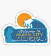 Ocean City - New Jersey.  Sticker