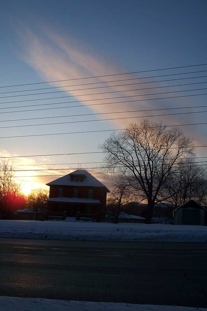 The Sun, The House and The Tree by notculpable