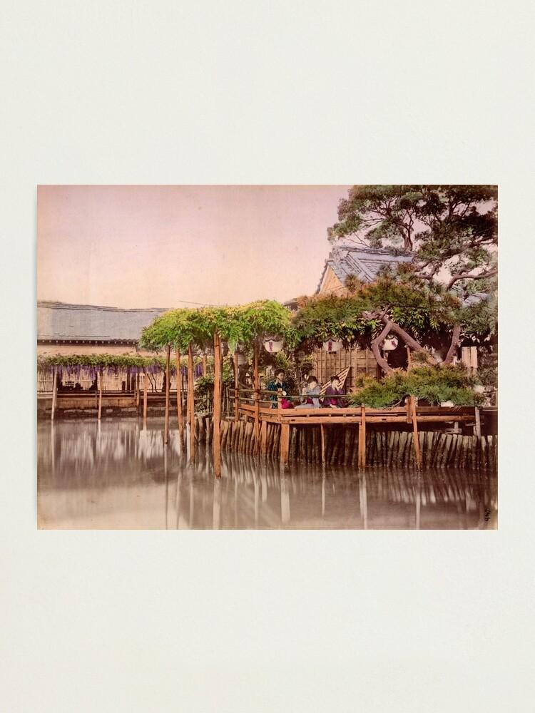 Alternate view of Kameido Tenjin Shrine, Tokyo, Japan Photographic Print