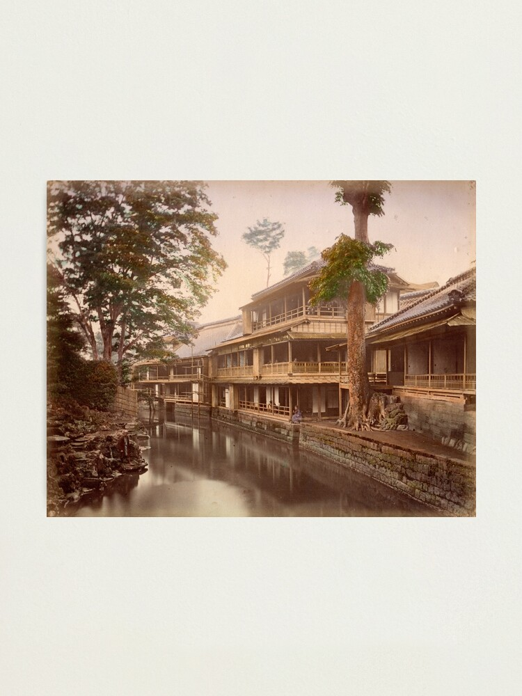 Alternate view of Tea house Photographic Print