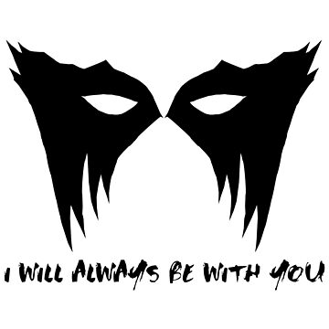 I WILL ALWAYS BE WITH YOU - LEXA (black) by Minuik