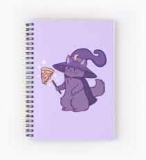 Kitty Wizard Spiral Notebook